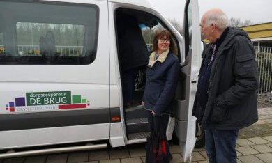 bus van bewonersinitiatief De Brug